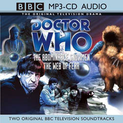 MP3 CD-Audio - The Abominable Snowmen / The Web of Fear